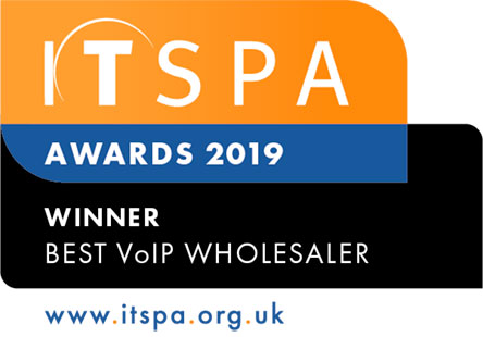 Best VoIP Wholesaler Winner ITSPA 2019